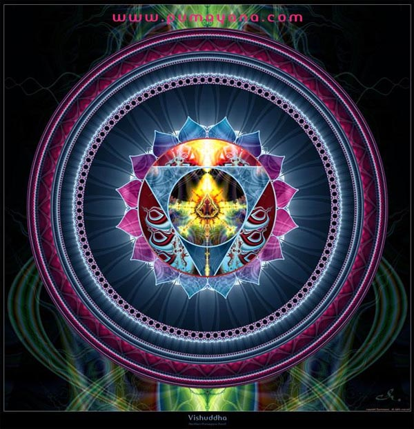 5th chakra: Vishuddha - by Aurélien Pumayana Floret.