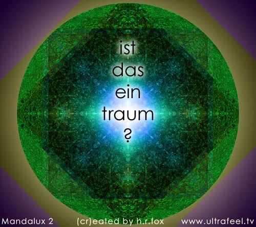 Luzider traum - luzides träumen: Ist das ein traum? (pic: h.r.fox - ultrafeel.tv)