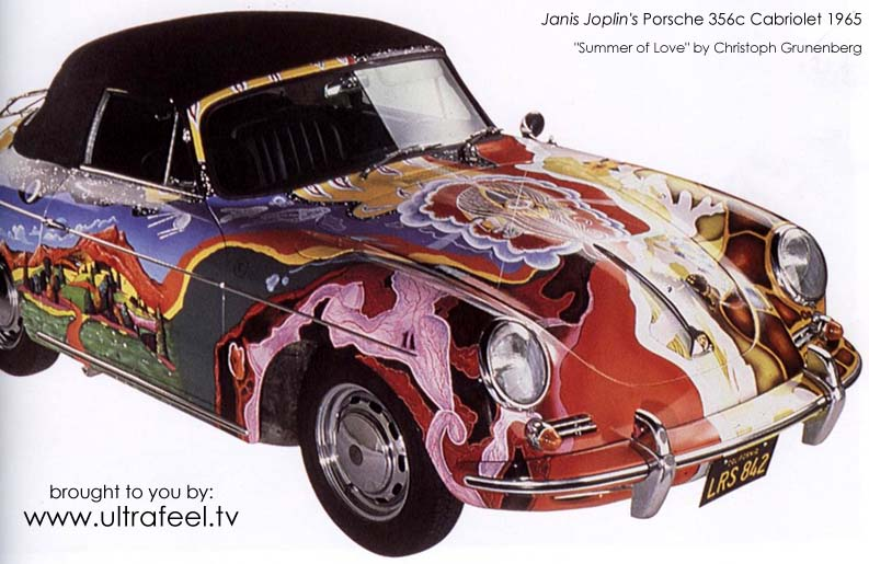 Porsche 356c: The psychedelic car of Janis Joplin