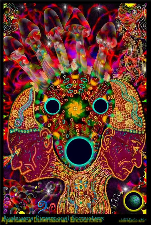 "Myztico Campo's ""Ayahuasca Dimensional Encounters"""