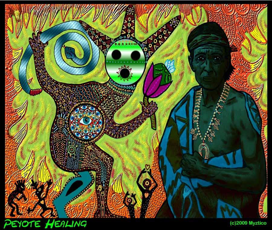 Myztico Campo: Peyote Healing