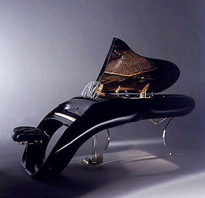 Grand Piano 'Pegasus' by Luigi Colani.