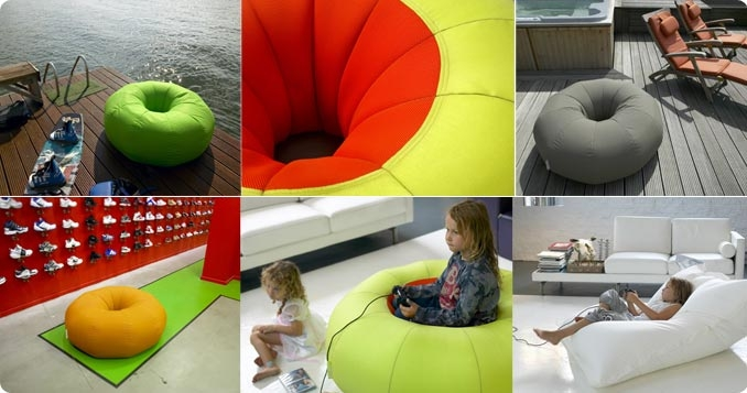 Sit On A Donut... Hot Chair Bed Design Art