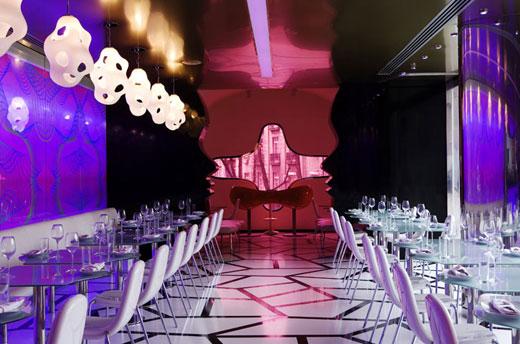 Majik Café Design by Karim Rashid