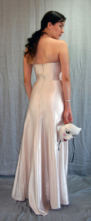 Ivory Gown by Ana Star.