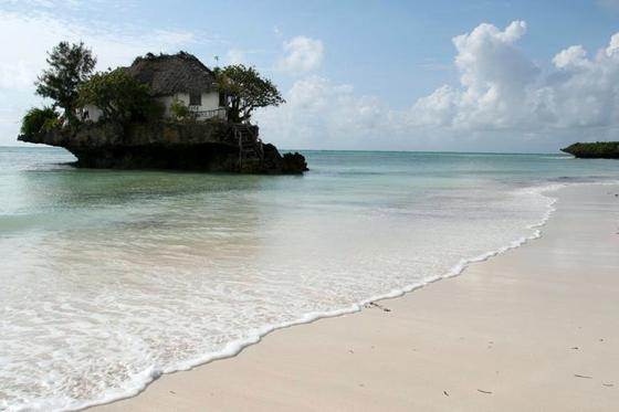 The Rock Restaurant Zanzibar At Michanwi Pingwe Beach