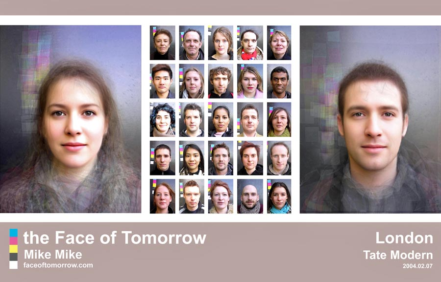 Average faces of England