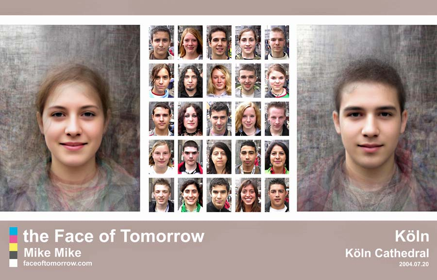 Average faces of Germany