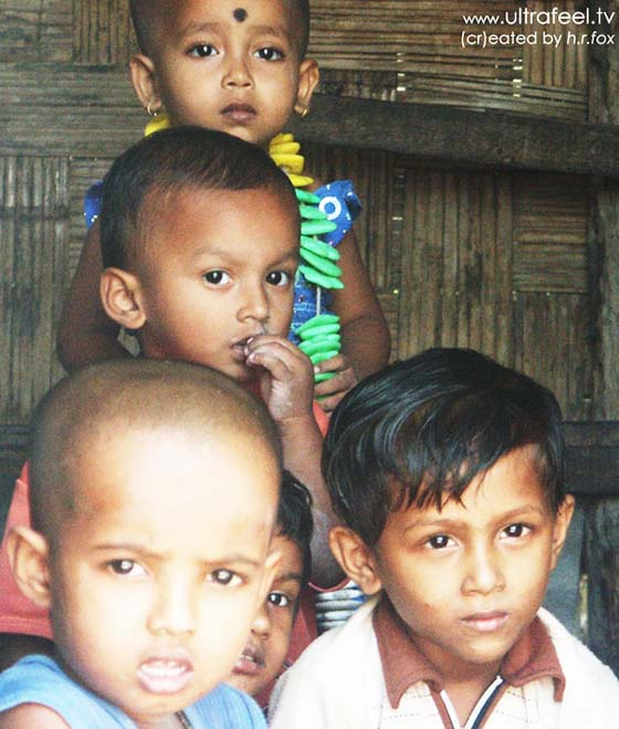 Children with hypnotic eyes in Havelock, Andaman Island. (cr)eated by h.r.fox @ ultrafeel.tv