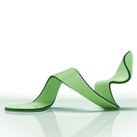 Wraparound shoe by Julian Hakes.