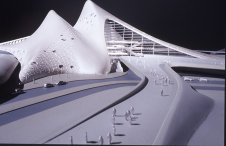 Zaha Hadid: Dubai opera house.