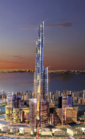 Burj Mubarak Al-Kabir: Future Tower in Kuwait.