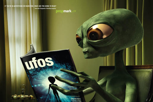 Alien : Advertisement by Neogama for Propmark.