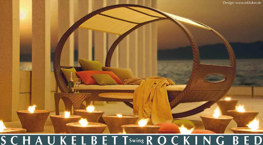 Rocking Bed by Manuel Kloker