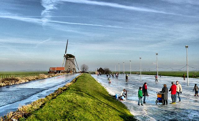 'Winter fun in Holland' (c) Erik Eti Smit