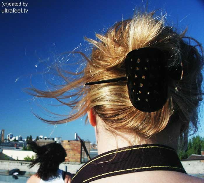 Women hair - On a rooftop in Berlin (c) h.r.fox @ ultrafeel.tv