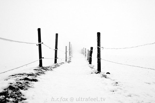 'Fence Into Infinity' by h.r.fox @ ultrafeel.tv