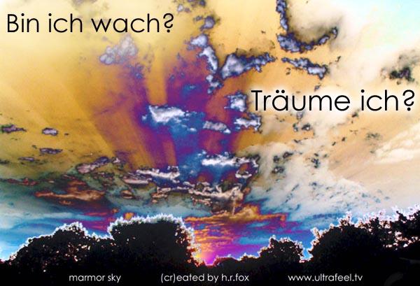 Luzides Träumen: Bin ich wach? (pic: h.r.fox @ ultrafeel.tv )