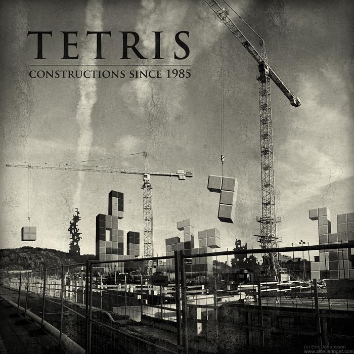 'Tetris: Constructions since 1985' by Erik Johansson.