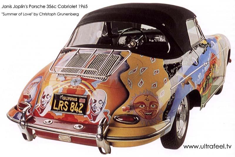 Porsche 356c: The psychedelic car of Janis Joplin