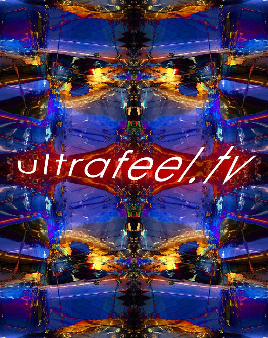"""Screech Symmetry"" Psychedelic art  by h.r.fox @ ultrafeel.tv"
