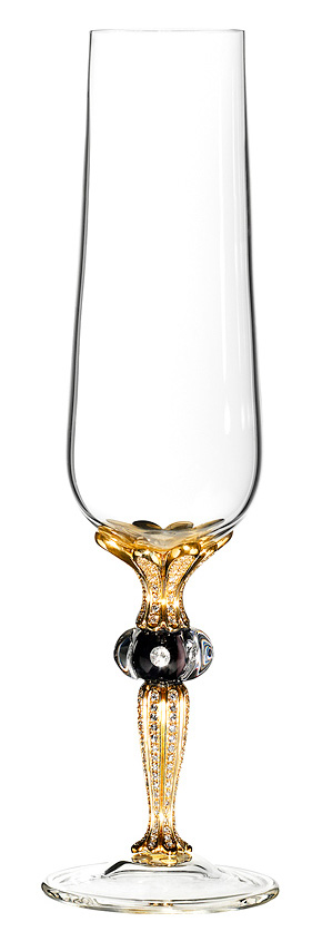 Diamond champagne glass by Imperial.