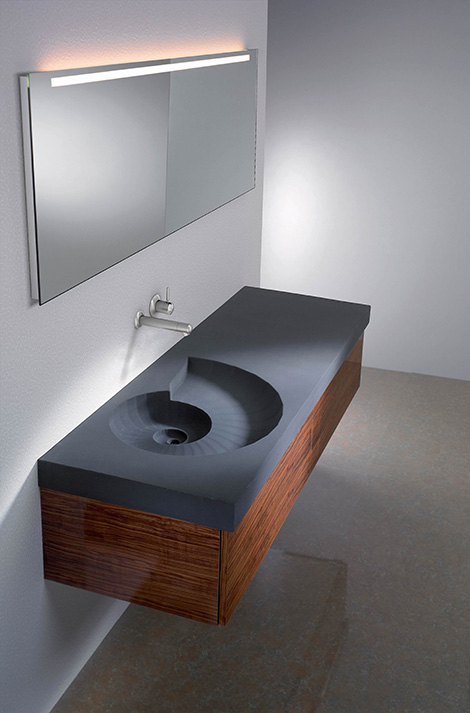 Ammonite sink washbasin by High Tech Design.