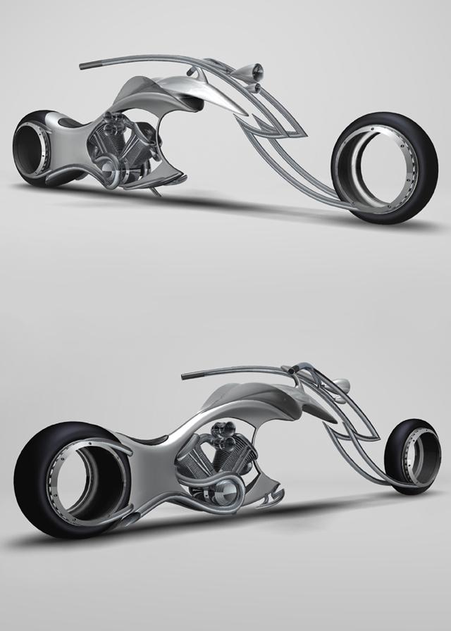 Alexander Kotlyarevsky's concept bike.