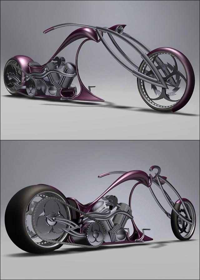 'Stalker' concept bike Alexander Kotlyarevsky.