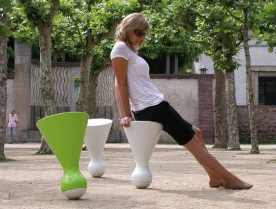 Chair by QED Design: 'Headstand'