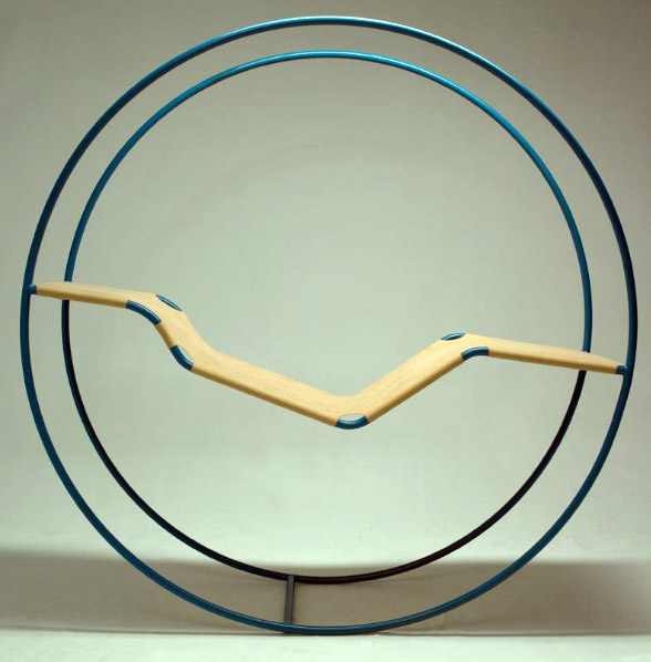 Philippe Malouin's chaise longue rocking chair.