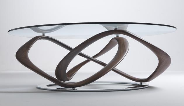 Infinity table by Stefano Bigi.