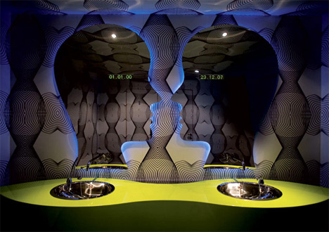 Majik Café : Design by Karim Rashid.