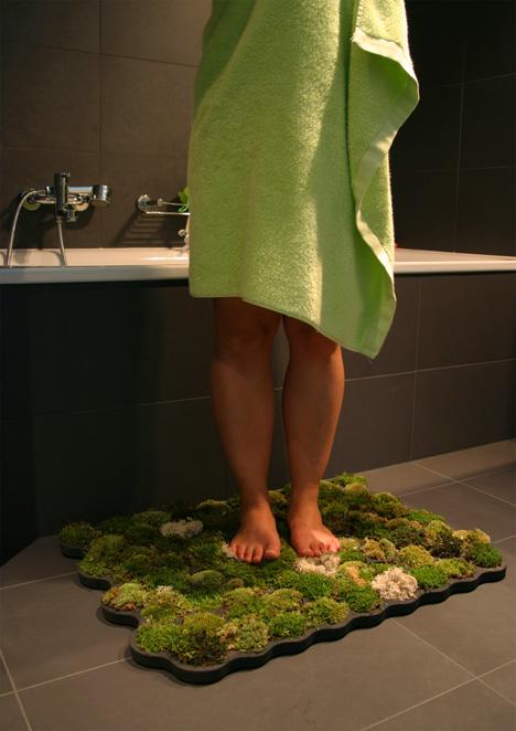 Green moss carpet by Nguyen La Chanh.