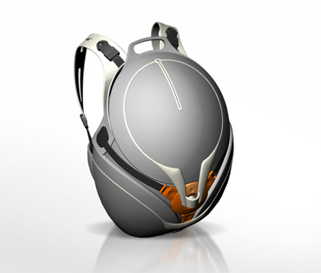Yanko Design presents this stylish high-tech backpack concept by designer Ivan Huber.