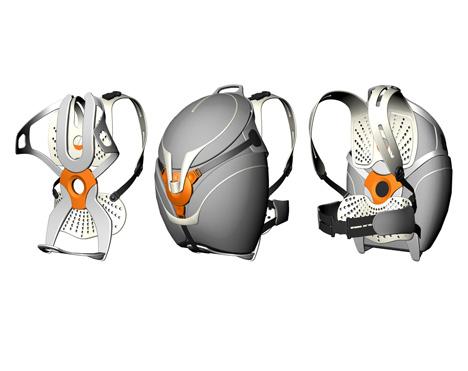 Yanko Design presents the Flo Backpack by designer Ivan Huber.