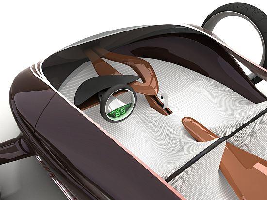 Matúš Procháczka's 'MAG' magnetic concept car.