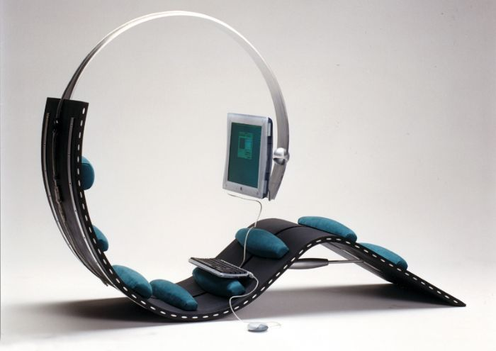 Surf chair by Kenneth Lylover and Leif Sorensen