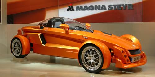 Magna Innovation Lightweigt Auto: Concept Car 'Mila'