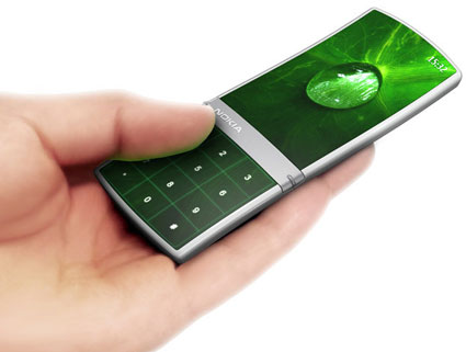 """""""Aeon"""" Nokia mobile phone concept"""