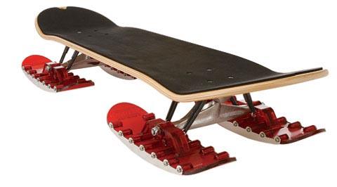 Snowskate: Skateboard for the snow by Flowlab.