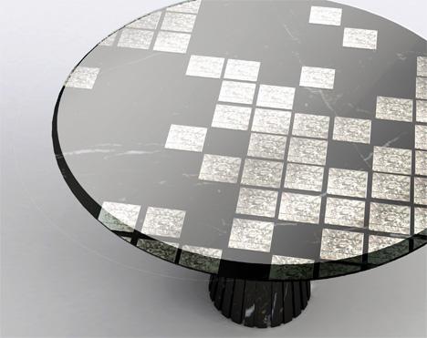 Solar table by Afroditi Krassa.