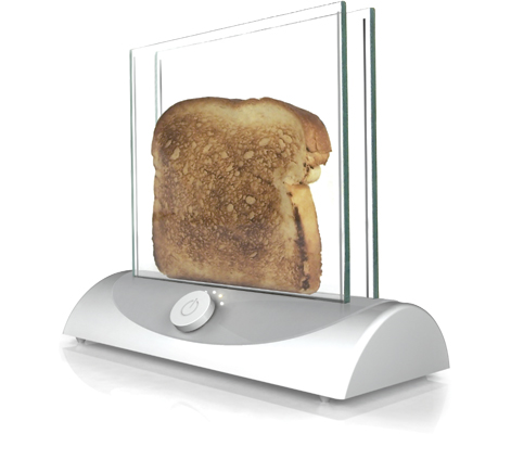 Inventables Concept Studio's 'Transparent Toaster'