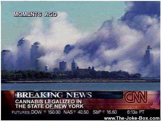 That's what happens when Cannabis gets legal in New York...according to CNN...
