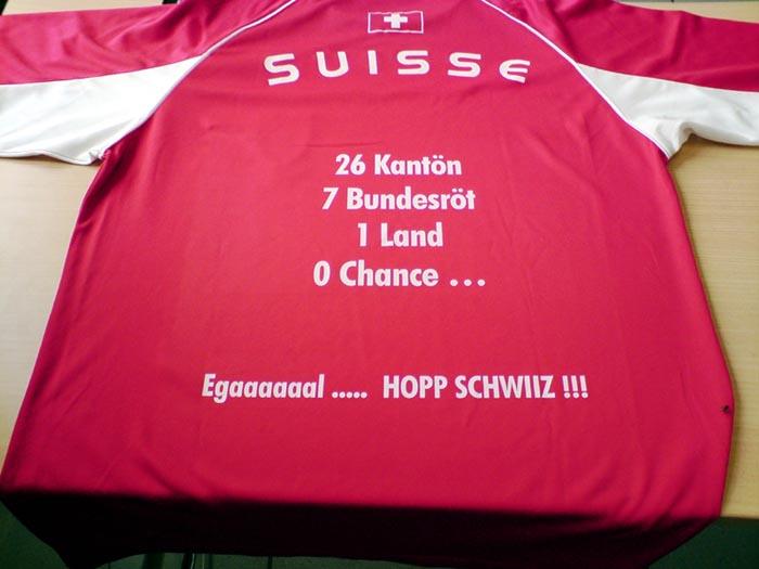 Hopp Schwiiz. Schweizer fussball t-shirt. Hop Schwiz. Schweiz. Suisse.