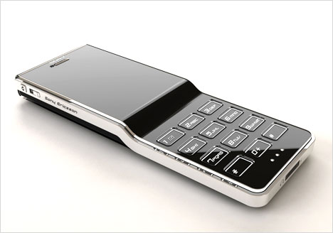 "The new Sony Ericsson mobile phone concept: ""Black Diamond"" by Jaren Goh"