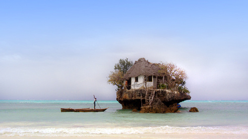 The Rock Restaurant Zanzibar At Michanwi Pingwe Beach
