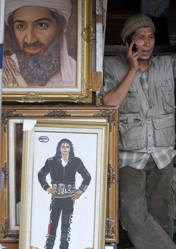 Michael Jackson - Osama Bin Laden.