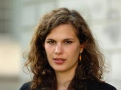 Lea Menzi, Nationalratskandidatin von den jungen Grünen, Kanton St. Gallen.
