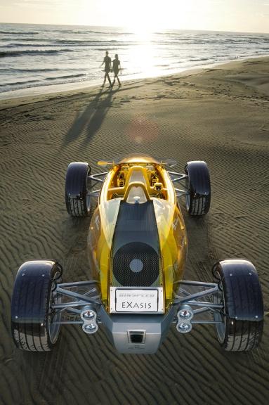 Rinspeed: eXasis transparent concept car.